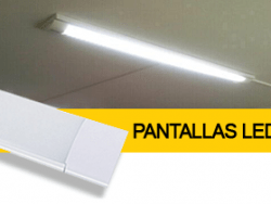 Regleta Led porta fluorescents integrat
